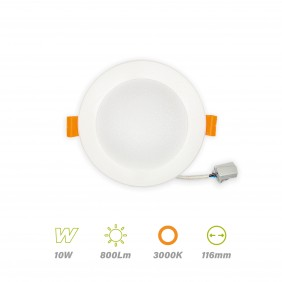 mini-downlight-led-10w-800lm-LUZ CÁLIDA