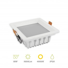 Downlight Led 18w 4000K 1600lm lighted 67612