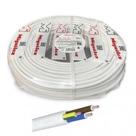 Manguera eléctrica Blanca 3G1,5 mm² MIGUELEZ