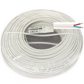 Cable Blanco 2 hilos de 1.5 mm² BARRYFLEX