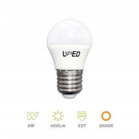 Bombilla LED E27 5w 3000K