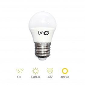 Bombilla LED E27 5w 4000K