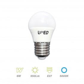 Bombilla LED E27 6w 5000K
