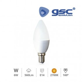 bombilla-vela-led-6w-e14-560lm-gsc-2002370