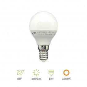 bombilla-esferica-led-6w-e14-3200k-edm-98703