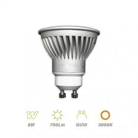 bombilla-dicroica-led-gu10-8w-750lm-3000k-aluminio-bb-120600
