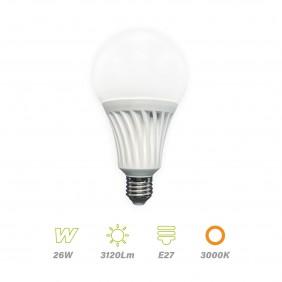 Lámpara Led E27 26w Luz Cálida