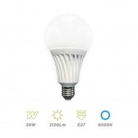 Lámpara Led E27 26w Luz Fría