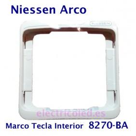 Marco Tecla Intermedia Arco Color Niessen 8270 BLANCO