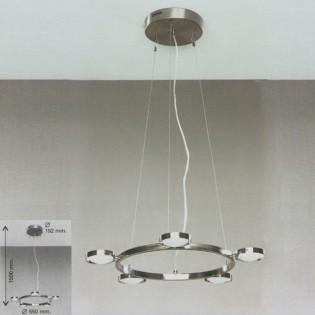 Lámpara Redonda 5 luces C-1019/5